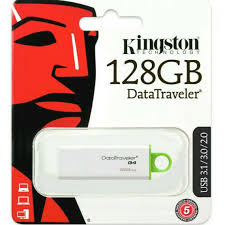 KINGSTON Pendrive 128GB - USB 3.1 Bianco