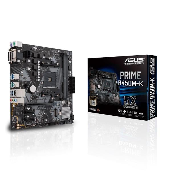 Main Board Asus PRIME-B450M-K - AM4